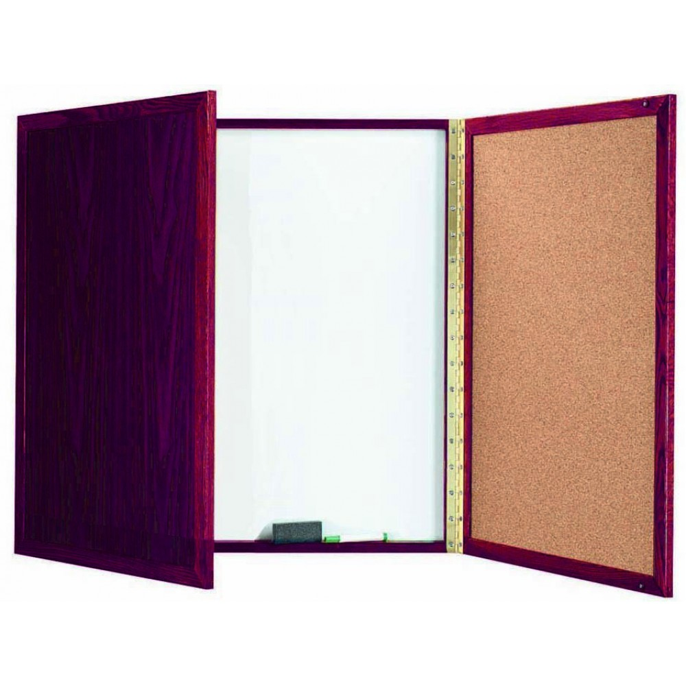 Cherry Enclosed Melamine Planning Board - 36