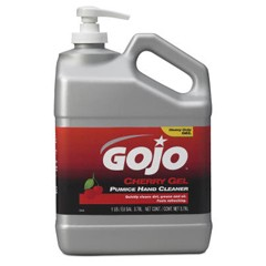GOJO Cherry Gel Pumice Hand Cleaner, Cherry Scent, 1 Gallon Pump 2/Carton