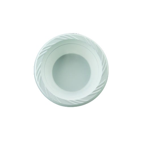 Chinet Popular Choice 12 Oz. White Plastic Soup Bowls