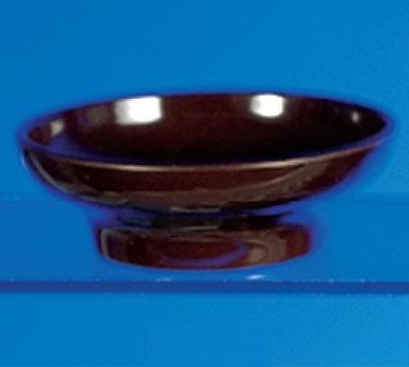 Chocolate Melamine 8 oz. Tulip/Salsa Bowl - 4-3/4