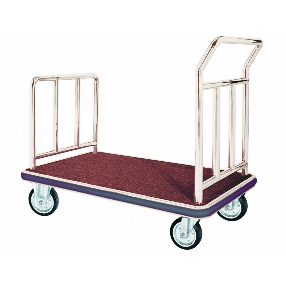 Chrome Bellman's Handtrucks and Luggage Carts