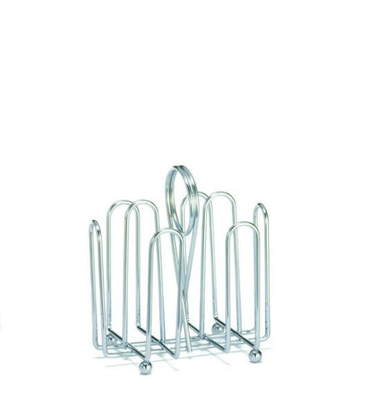 Chrome-Plated Jelly Packet Rack