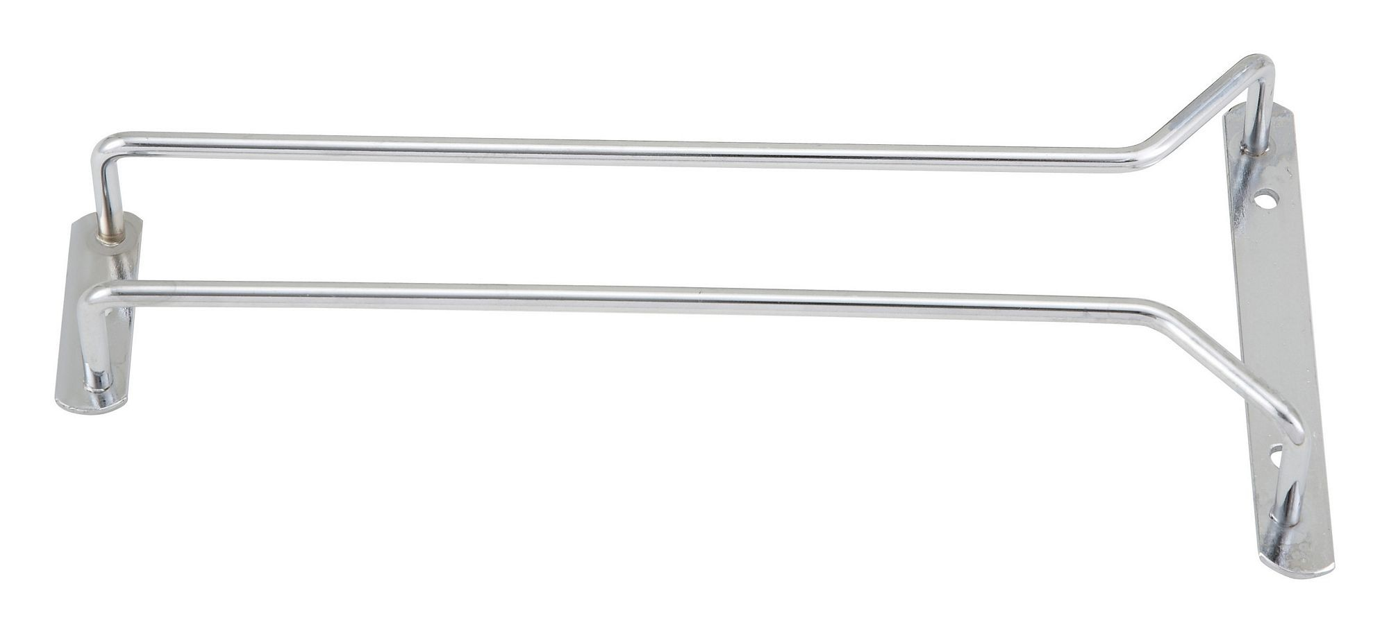 """Winco GHC-10 Chrome-Plated Wire Glass Hanger Rack 10"""""""