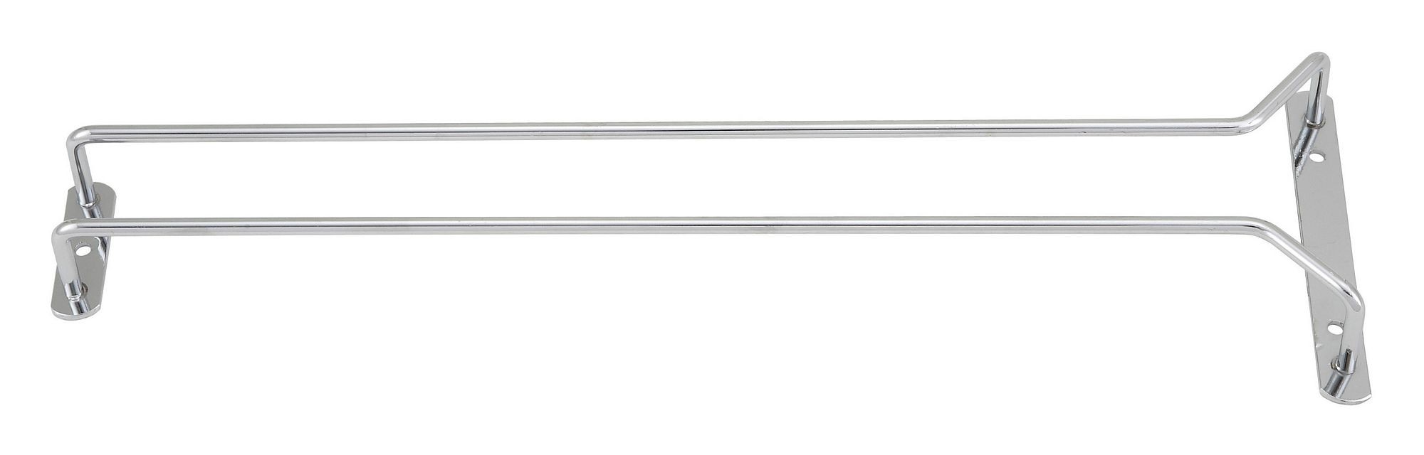 Winco GHC-16 Chrome-Plated Wire Glass Hanger Rack 16""