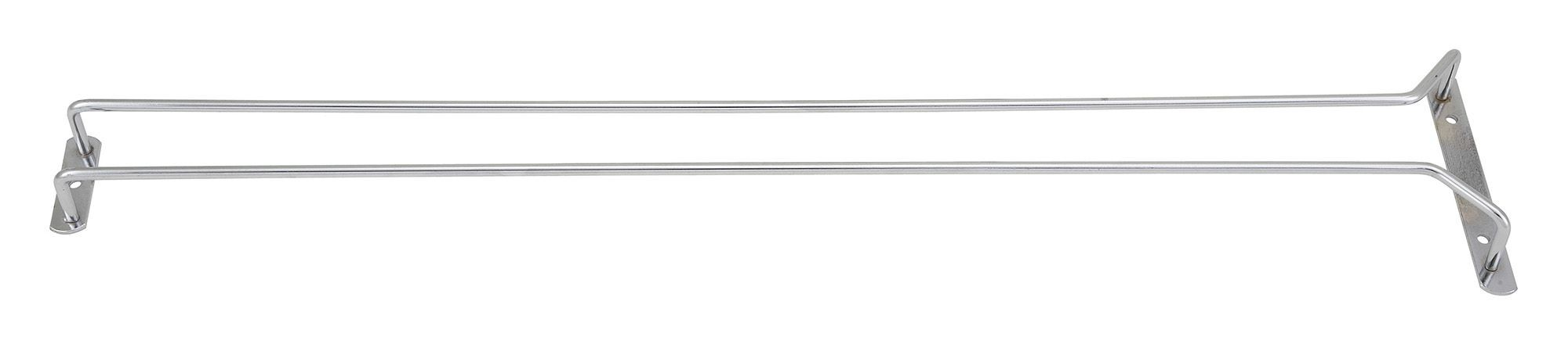 Winco GHC-24 Chrome-Plated Wire Glass Hanger Rack 24""