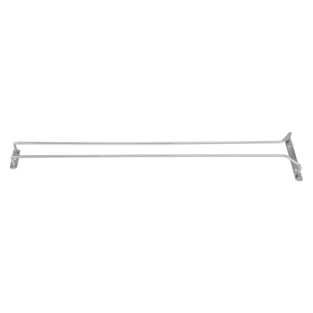 Chrome Plated Wire Glass Hanger Rack- 24