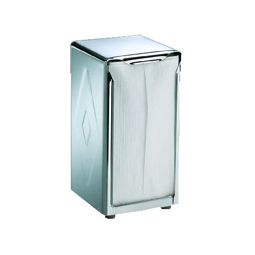 Chrome Tall Fold Napkin Dispenser