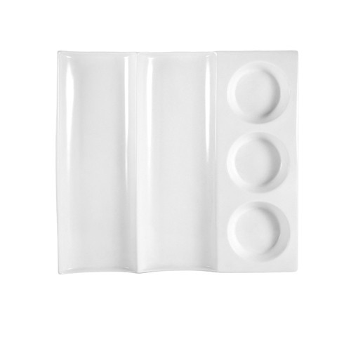CitySquare Contemporary Baboo Tray 12
