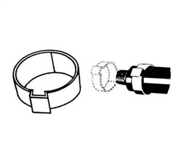 Franklin Machine Products  142-1443 Clamp, Tab (5/8Tube, Stainless Steel ) (100 )