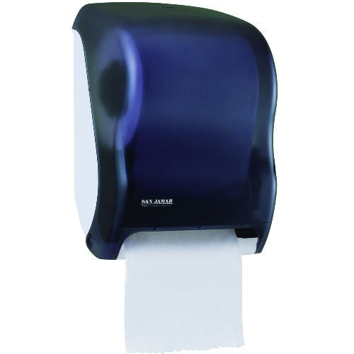 Classic Paper Hand Towel Dispenser, Uses 4D Batteries, Black Pearl