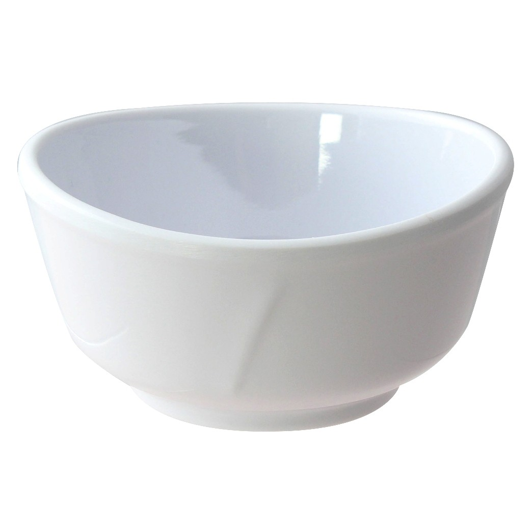 Thunder Group 39045WT Classic White Melamine Bowl, 11 oz.