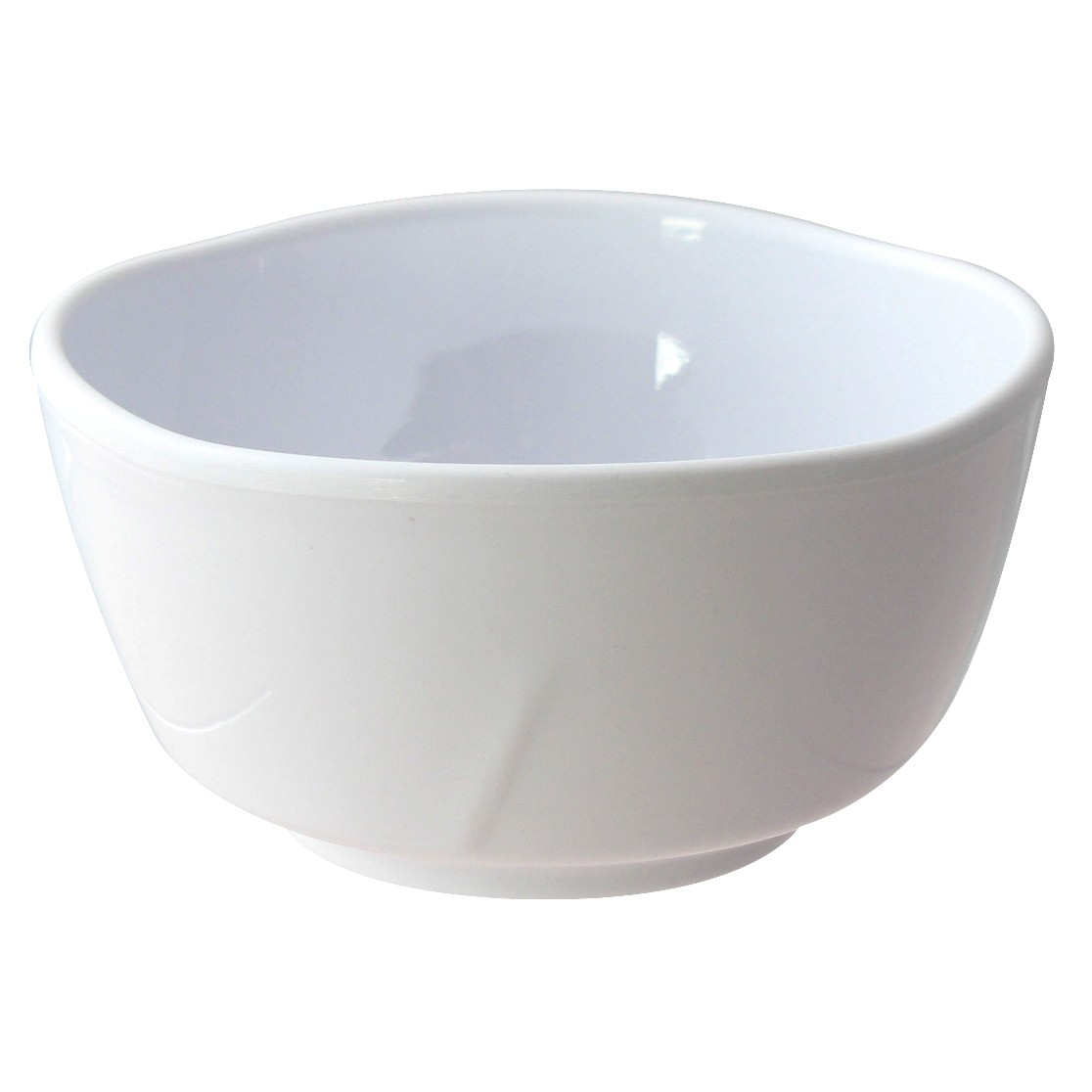 Thunder Group 39050WT Classic White Melamine Bowl, 16 oz.