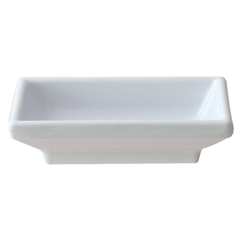 Thunder Group 19001WT Classic White Melamine Sauce Dish 2 oz.