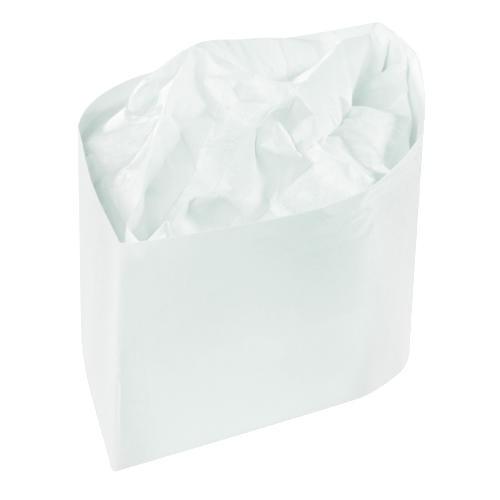 Classy Capacity Plain White Paper Hats