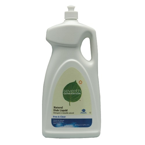 Cleaner Natural Dishwashing Liquid, 48 Oz