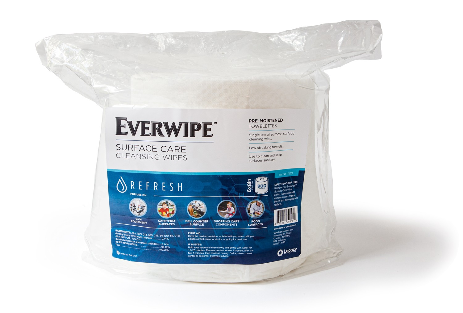 Cleaning and Deodorizing Wipes, 6