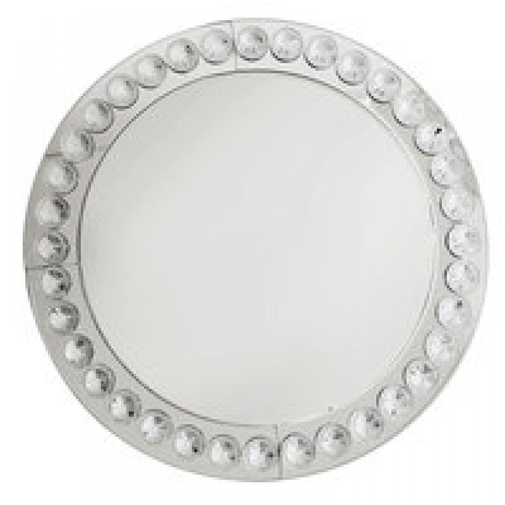 Clear  Beaded Charger Plate 13
