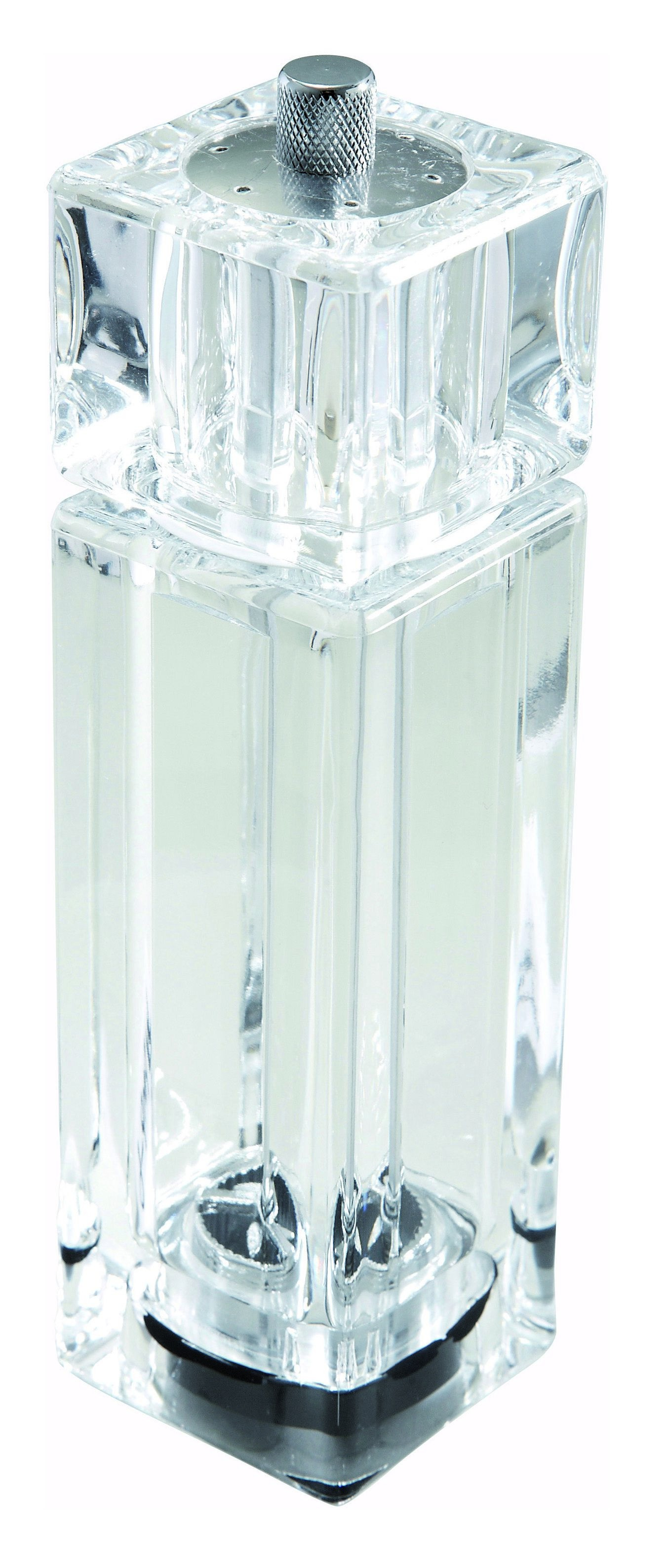Winco WPMP-6 Clear Acrylic Pepper Mill/Salt Shaker 6""