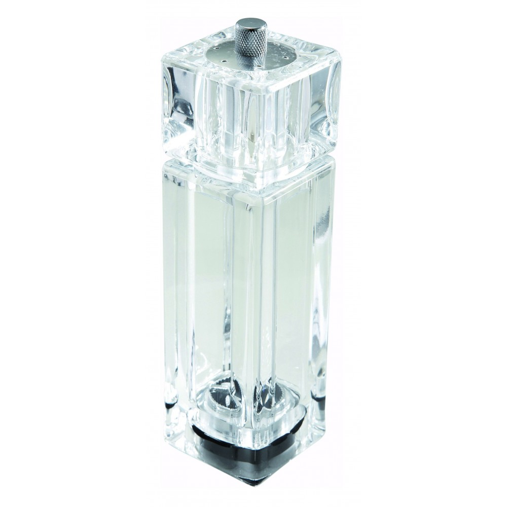Clear Acrylic Pepper Mill/Salt Shaker - 6