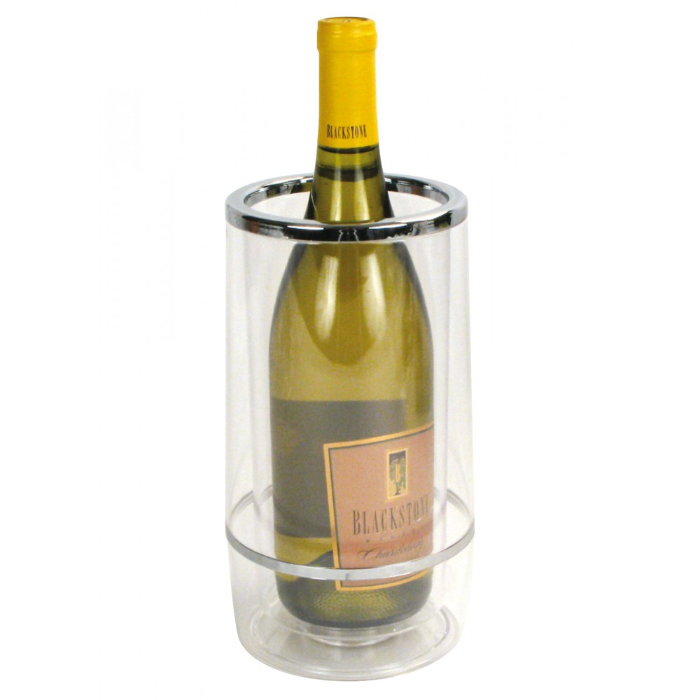 Clear Acrylic Wine Cooler With Colored Box