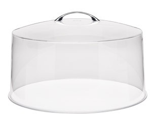 """Royal Industries ROY CC 13 Clear Cover for 13"""" Dia. Cake Stand"""