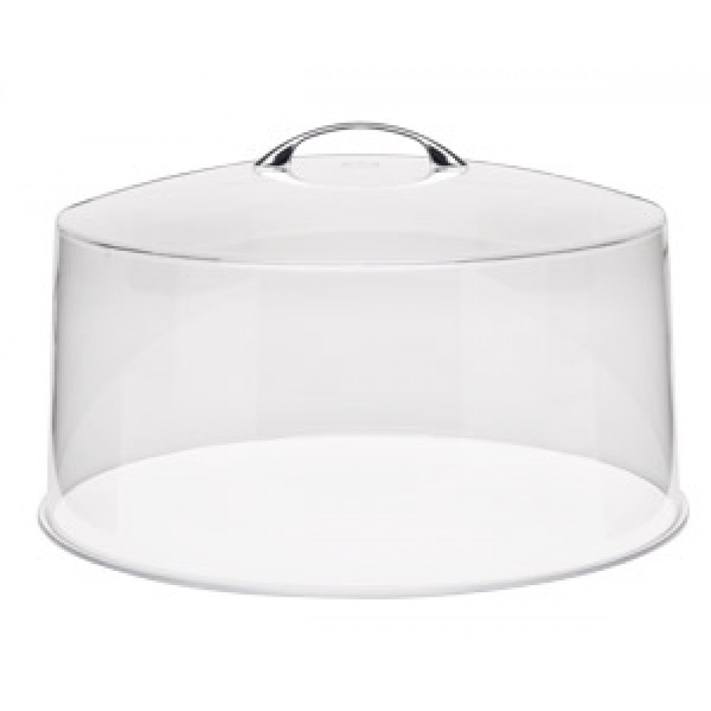 "Royal Industries roy cc 13 Clear Cover for 13"" Dia. Cake Stand"