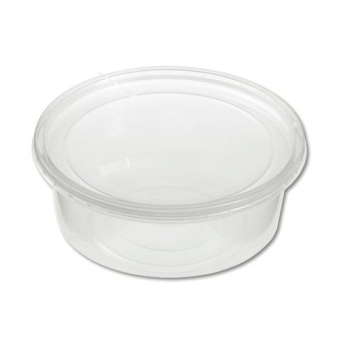 Clear Plastic Food Containers with Lids 32 Oz