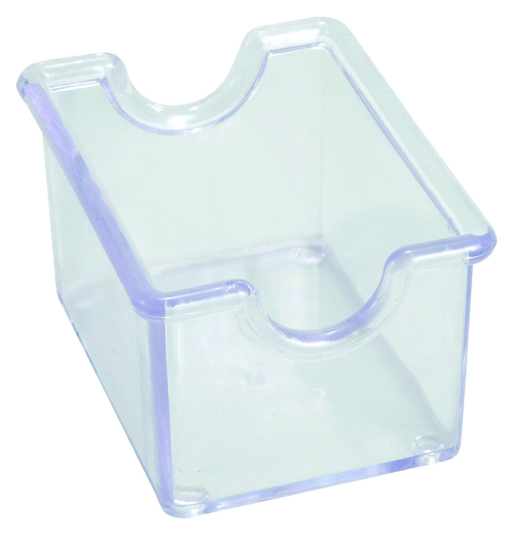 Winco PPH-1C Clear Plastic Sugar Packet Holder