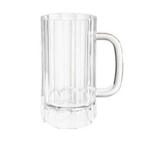 G.E.T. Enterprises 00087-PC-CL Clear Polycarbonate 20 oz. Beer Mug