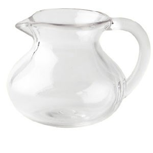 G.E.T. Enterprises CM-302-PC-CL Clear Polycarbonate 6 oz. Creamer