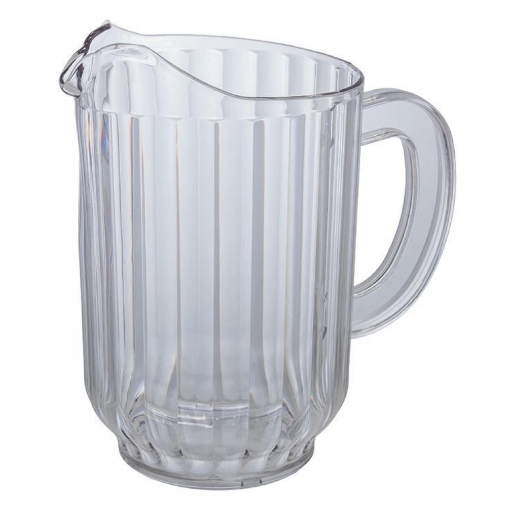 clear polycarbonate 60 oz water pitcher lionsdeal. Black Bedroom Furniture Sets. Home Design Ideas