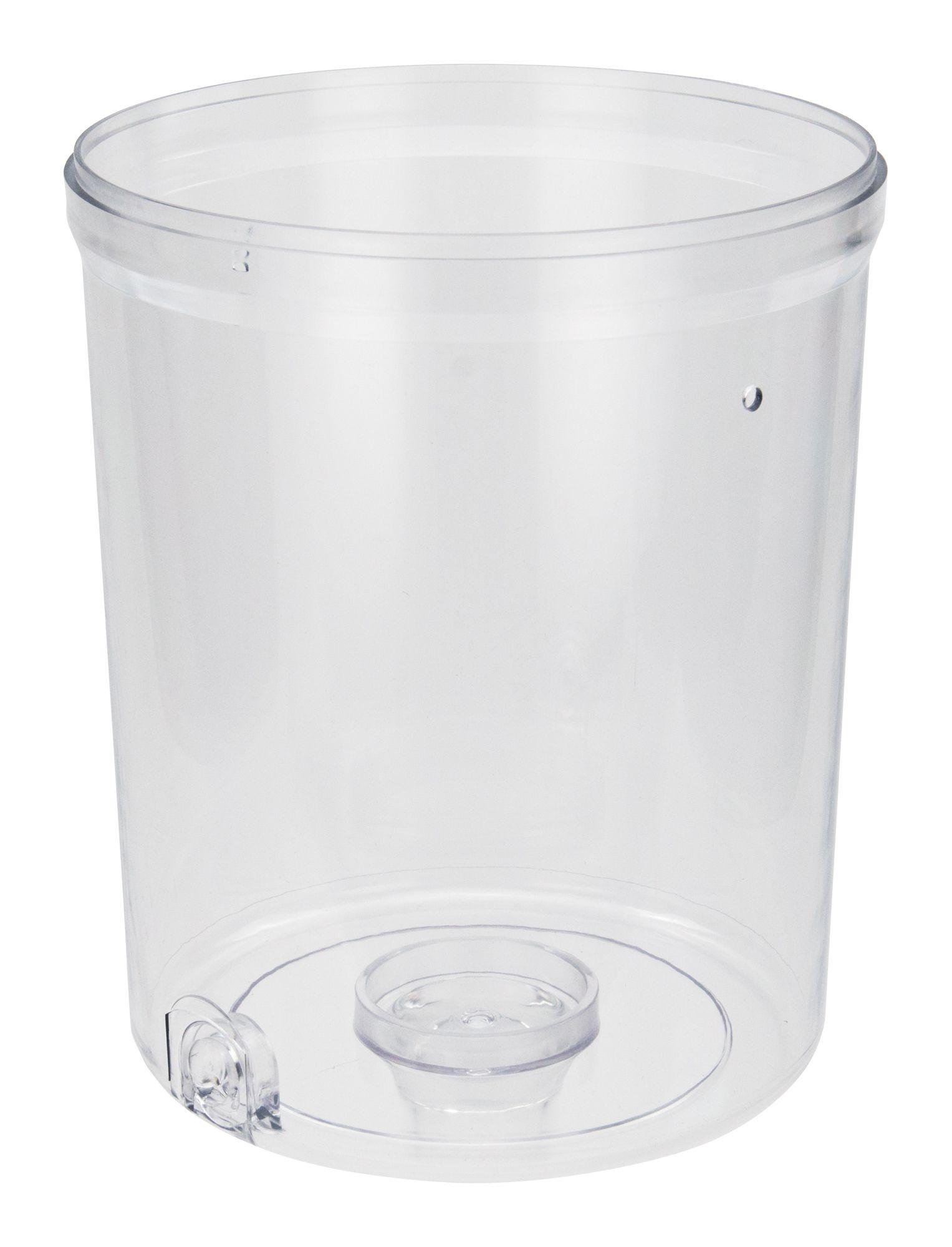 Winco 901-P1 Clear Polycarbonate Beverage Jar for Juice Dispenser 901