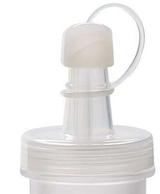 G.E.T. Enterprises LIDw/STOPPER Clear Lid with Stopper for Salad Dressing Bottles DB-16 & SDB-32