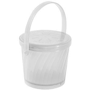 G.E.T. Enterprises EC-13-1-CL Clear Eco-Takeouts 16 oz. Soup Container