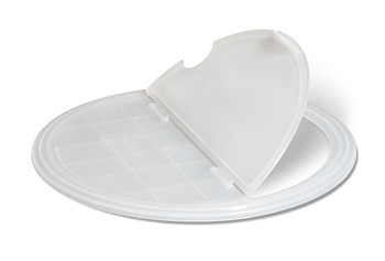 Clear Polypropylene Lid for ML-271, ML-272, & ML-273