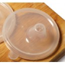 G.E.T. Enterprises SN-106-CL Clear Polypropylene Reusable Perforated Lid for 6612, SN-103 & SN-104