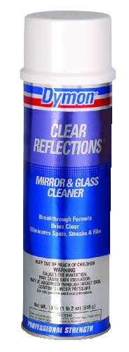 Clear Reflections Mirror & Glass Cleaner, Aerosol, 20 Oz
