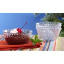 G.E.T. Enterprises DD-80-CL Dessert Time Clear 10 oz. Plastic Dessert Bowl