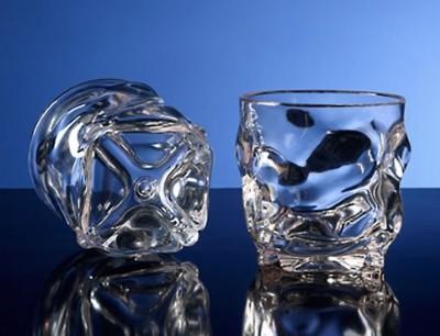 G.E.T. Enterprises SW-1440-1-CL Clear SAN Plastic 12 oz. Rocks Glass