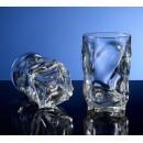 G.E.T. Enterprises SW-1441-1-CL Clear SAN Plastic 14 oz. Beverage Glass
