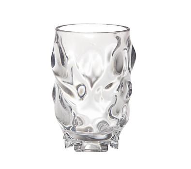 G.E.T. Enterprises SW-1448-1-CL Clear SAN Plastic 5 oz. Juice Glass