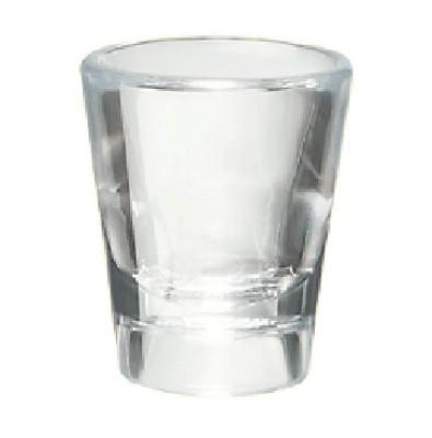 G.E.T. Enterprises SW-1433-1-CL Clear SAN Plastic 7/8 oz. Shot Glass
