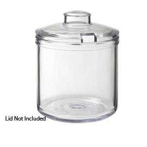 G.E.T. Enterprises CD-8-2-CL Plastic Condiment 8 oz. Jar Only