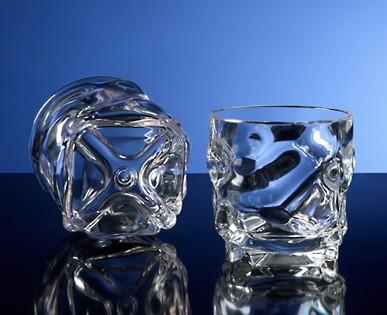 G.E.T. Enterprises SP-SW-1439-CL Clear SAN Plastic 9 oz. Rocks Glass