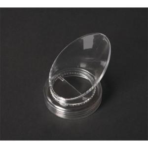 G.E.T. Enterprises Lar.PourCL Clear SAN Large Pour Lid for Salad Dressing Bottle