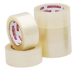 "Royal Industries TAPE 2-55 Clear Tape Box 2"" x 55 Yards"