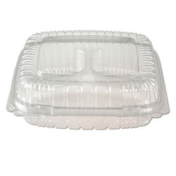 ClearSeal 1-Compartment Clear Hinged Lid Containers, Large 9