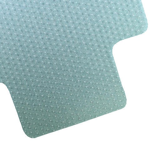 Cleated Chair Mat for Low-to-Medium Pile Carper, 36 X 48