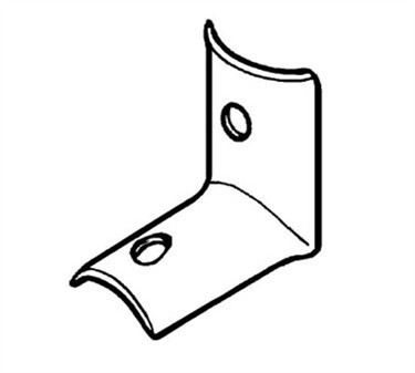 Franklin Machine Products  141-1107 Clip, Cove (Partition )