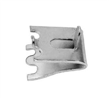 Franklin Machine Products  135-1241 Clip, Pilaster (with Tab, Stainless Steel )